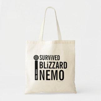 Sobreviví la ventisca Nemo 2013 bolsos 8 Bolsas