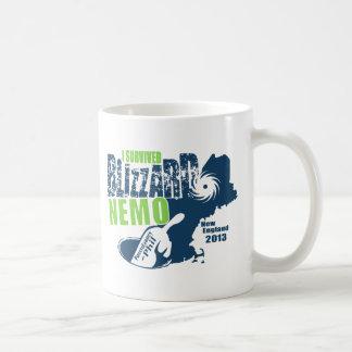 Sobreviví la ventisca Nemo Taza De Café