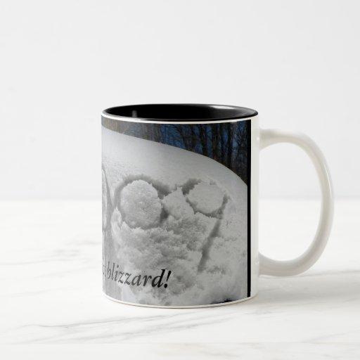 ¡Sobreviví la ventisca! Taza De Café