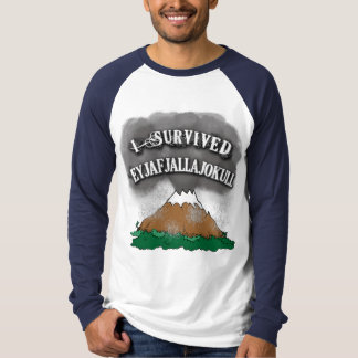 Sobreviví las camisetas de Eyjafjallajokull,
