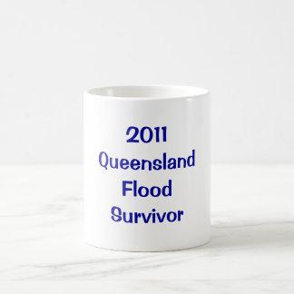 Sobreviví las grandes inundaciones de Queensland d Tazas