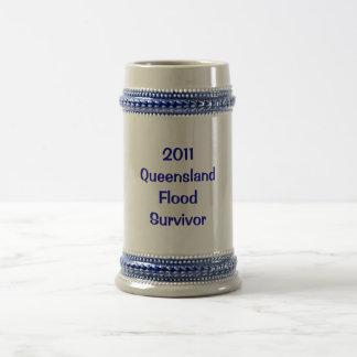Sobreviví las grandes inundaciones de Queensland d Taza De Café