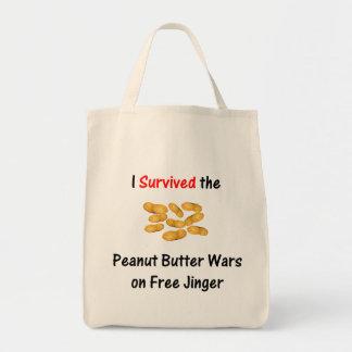 Sobreviví las guerras de la mantequilla de cacahue bolsas