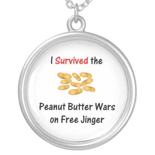 Sobreviví las guerras de la mantequilla de cacahue joyerias