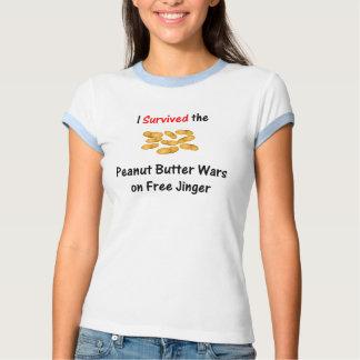Sobreviví las guerras de la mantequilla de playeras