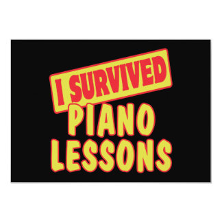 SOBREVIVÍ LECCIONES DE PIANO ANUNCIOS PERSONALIZADOS