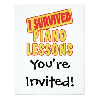 SOBREVIVÍ LECCIONES DE PIANO COMUNICADOS