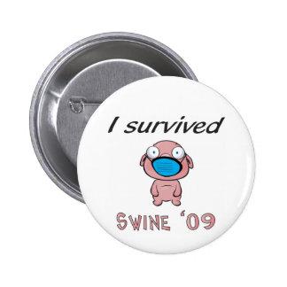 Sobreviví los cerdos '09 pin