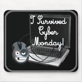 Sobreviví lunes cibernético tapetes de ratones