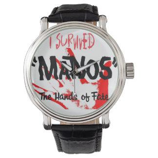 ¡Sobreviví Manos - el reloj! Relojes