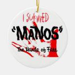 Sobreviví Manos las manos del sino Ornamentos De Reyes