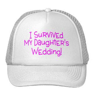 Sobreviví mi casarse de las hijas gorro