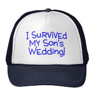 Sobreviví mi casarse de los hijos gorro de camionero