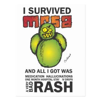 Sobreviví MRSA Postales