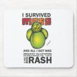 Sobreviví MRSA Tapetes De Ratón