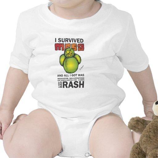 Sobreviví MRSA Traje De Bebé