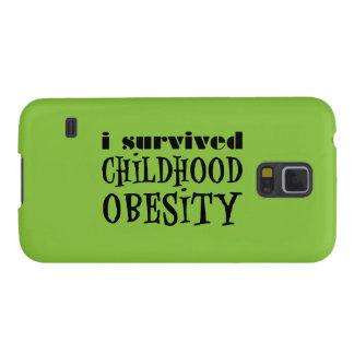 Sobreviví obesidad de la niñez funda de galaxy s5