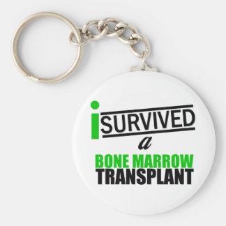 Sobreviví un trasplante v3 de la médula llavero personalizado