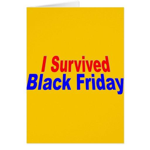 ¡Sobreviví viernes negro! Felicitacion