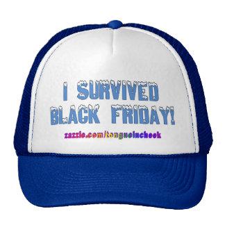 ¡Sobreviví viernes negro! Fuente de Snowcap Gorro
