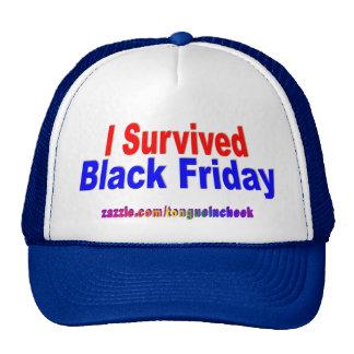 ¡Sobreviví viernes negro! Gorra