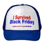 ¡Sobreviví viernes negro! Gorros