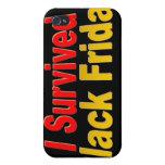 Sobreviví viernes negro iPhone 4 cárcasa