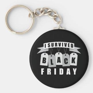 Sobreviví viernes negro llaveros