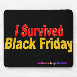 ¡Sobreviví viernes negro! Tapetes De Ratones