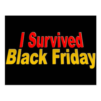 ¡Sobreviví viernes negro! Postales