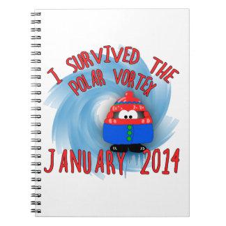 Sobreviví VÓRTICE enero de 2014 POLAR Cuaderno