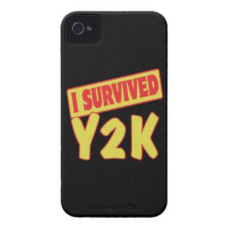 SOBREVIVÍ Y2K iPhone 4 Case-Mate COBERTURAS