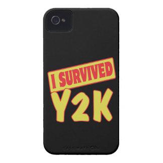SOBREVIVÍ Y2K iPhone 4 Case-Mate CÁRCASA