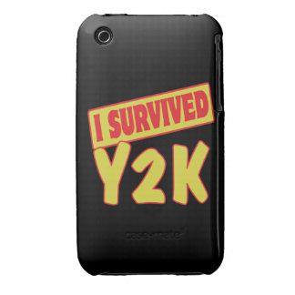 SOBREVIVÍ Y2K iPhone 3 Case-Mate FUNDAS