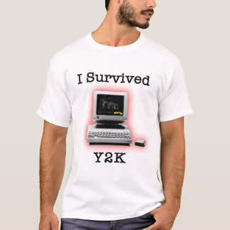 Sobreviví Y2K Playera