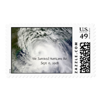 Sobrevivimos el huracán Ike - franqueo