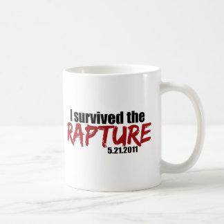 Sobrevivió el éxtasis tazas de café