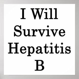 Sobreviviré la hepatitis B Impresiones