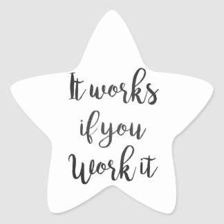 Sobriety 12 step recovery quote gift clean sober star sticker