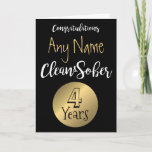 """Sobriety card 12 step sober anniversary birthday<br><div class=""""desc"""">Custom Sobriety Birthday Anniversary Card  Black white and gold typography modern design.  Insert Name and Number of years Sober.     &lt;script type=&quot;text/javascript&quot;&gt; var sc_project=11199239;  var sc_invisible=0;  var sc_security=&quot;90578a39&quot;;  var scJsHost = ((&quot;https:&quot; == document.location.protocol) ? &quot;https://secure.&quot; : &quot;http://www.&quot;); document.write(&quot;&lt;sc&quot; &quot;ript type=&#39;text/javascript&#39; src=&#39;&quot;   scJsHost  &quot;statcounter.com/counter/counter.js&#39;&gt;&lt;/&quot; &quot;script&gt;&quot;); &lt;/script&gt; &lt;noscript&gt;&lt;/noscript&gt;</div>"""