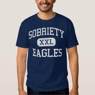 Sobriety - Eagles - High School - Edina Minnesota T Shirt