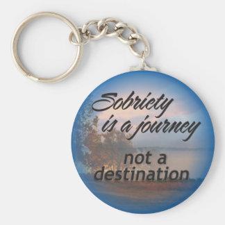 sobriety is a journey keychain 15
