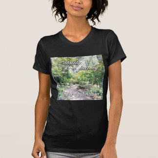 sobriety is a journey tee shirt