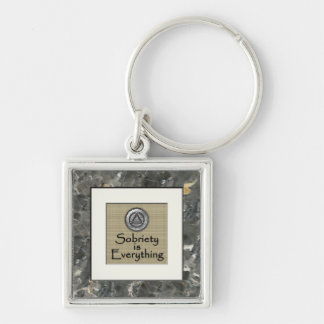 SOBRIETY IS EVERYTHING Recovery Keychain