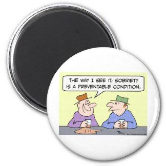 sobriety preventable condition drunk magnet