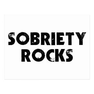 Sobriety Rocks Postcard