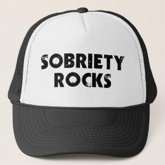 Sobriety Rocks Trucker Hat