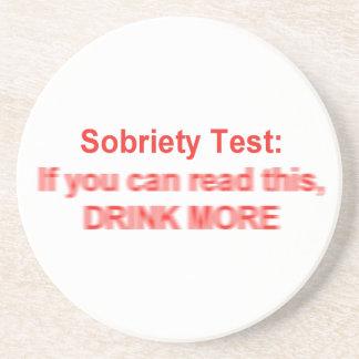 Sobriety Test Coaster
