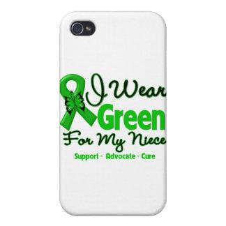 Sobrina - cinta verde de la conciencia iPhone 4 coberturas
