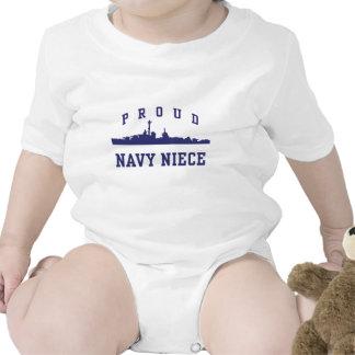 Sobrina de la marina de guerra camiseta